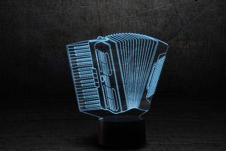 "3D-светильник ""Баян"""