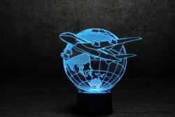 """3D-светильник """"Самолет 3"""""""