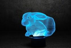 """3D-светильник """"Кролик 2"""""""