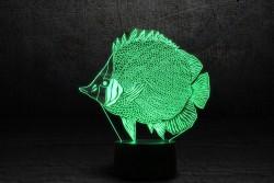 """3D-светильник """"Рыбка"""""""