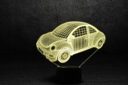 """3D-светильник """"Автомобиль 14"""""""