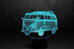 3D-светильник Автомобиль 8