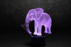 3D-светильник Слон 2