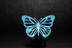 3D-светильник Бабочка 2