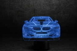 3D-светильник Автомобиль 10
