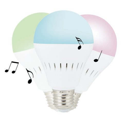 "Bluetooth-динамик ""Умная лампочка"""