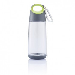 Бутылочка мини с карабином, цвет лайм