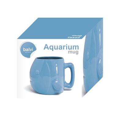 "Кружка ""Aquarium"" синия"