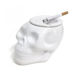 """Пепельница """"Skully"""" белая"""