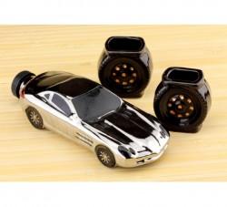 Коньячный набор авто 18 см. Mercedes SLR, 3 предмета