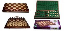 Шахматы Ambasador, коричневые