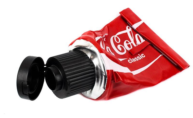 Салфетница тюбик Coca-cola
