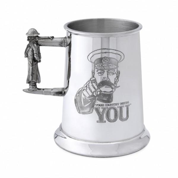 Пивная кружка «Твоя страна нуждается в тебе!»
