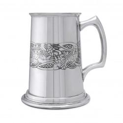 Тяжелая пивная кружка с кельтским орнаментом