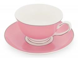 Чайная пара «Прованс», розовая