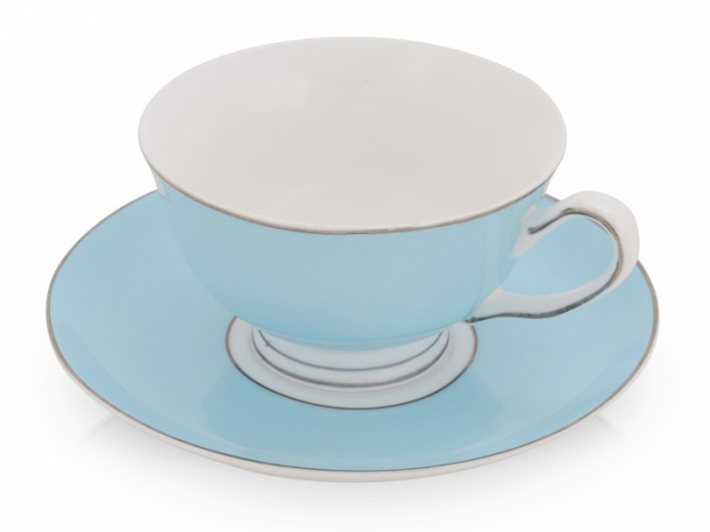 Чайная пара «Прованс», голубая
