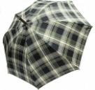 Зонт-трость Doppler 23645-2 механика черно-зеленая клетка