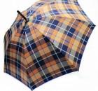 Зонт-трость Doppler23645-3 механический Сине-коричневый