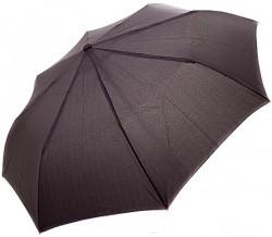 Зонт складной Doppler 730167-3 полуавтомат Черный