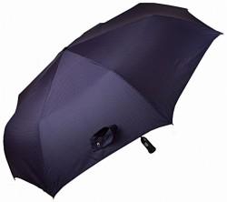 Зонт складной Doppler 743067-3 полный автомат Черный с серыми ромбами