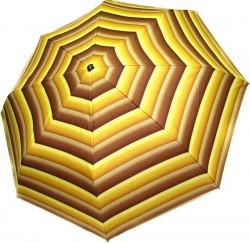 Зонт складной Doppler 7441465ST-1 полный автомат Коричнево-желтый