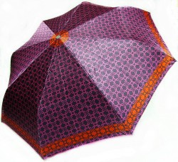 Зонт складной Doppler Сarbon 74665GFGG18-4 полный автомат Сиреневый (кольчуга)