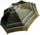 Зонт складной Doppler Сarbon 74665GFGG18-9 полный автомат Темно-коричневый с кантом