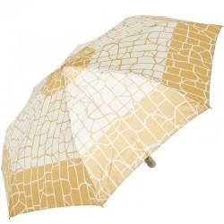 Зонт складной Doppler 74665GFGGZ-1 полный автомат Бежевый с квадратами