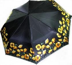 Зонт складной Doppler 74665GFGP-2 полный автомат Черно-желтый