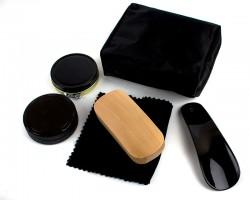 Дорожный набор для ухода за обувью в сумке