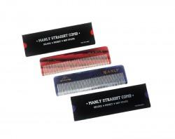 Пластиковая расческа для волос MANLY STRAIGHT COMB (прямая)