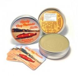 Мягкая глина для волос MANLY CLAY POMADE (Indian), 100 ml