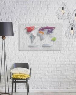 Скретч карта мира Travel Map AIR World, англ