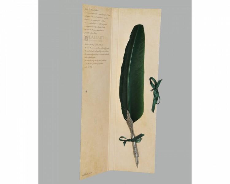Перо Зеленый Бархат Piu 01