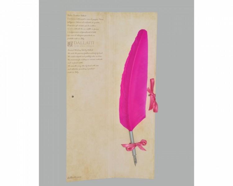 Перо Розовое Piu 04