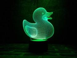 3D-светильник Уточка