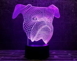 3D-светильник Бульдог
