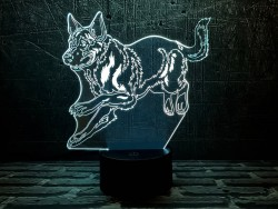 3D-светильник Немецкая овчарка