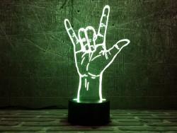 3D светильник ILY