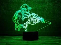 3D светильник Защитник