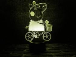 3D-светильник Свинка Пэппа