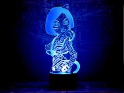 3D светильник Монстер Хай