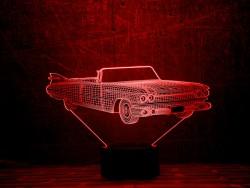 3D-светильник Автомобиль 15