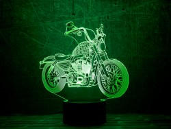 3D-светильник Мотоцикл 5