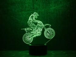 3D-светильник Мотоцикл 6
