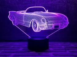3D-светильник Автомобиль 23
