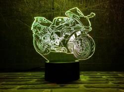 3D-светильник Мотоцикл 8