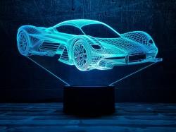3D-светильник Автомобиль 34