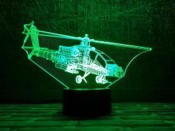 3D-светильник Вертолет 3