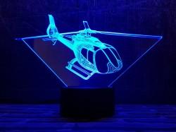 3D-светильник Вертолет 4